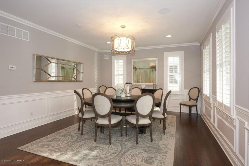 Exceptional Wainscoting Ideas Dining Room Moldings