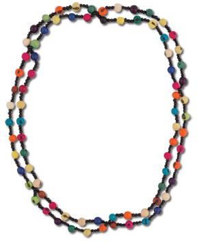 Brighter Days Acai Necklace - $24.00 #handmade #colorful
