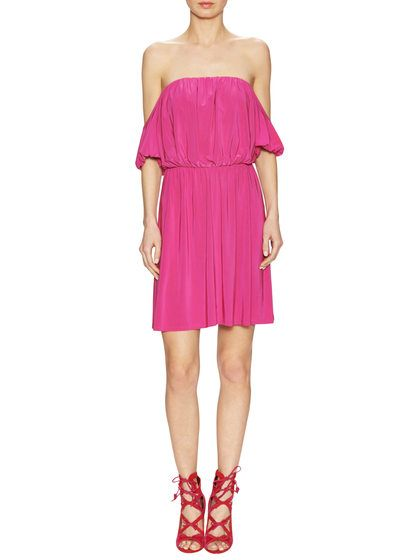 Off The Shoulder Dress by T Bags Los Angeles at Gilt