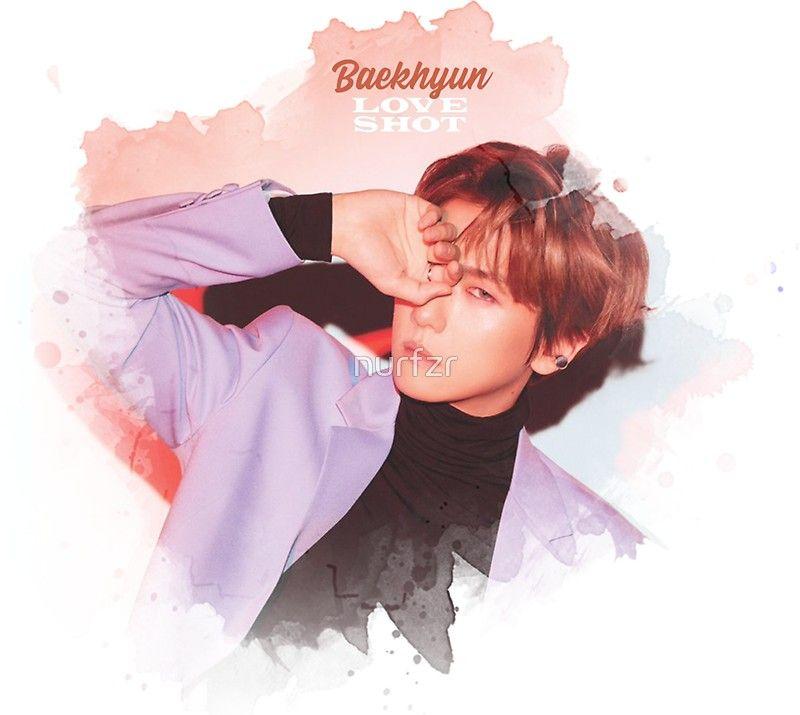 Baekhyun Exo Love Shot Sticker By Nurfzr In 2019 Exo Exo Exo