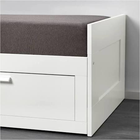 IKEA GRONG, Überzug Für Tagesbett, Dunkelgrau