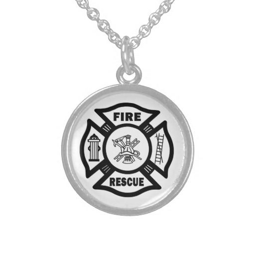 Fire Rescue Custom Necklace
