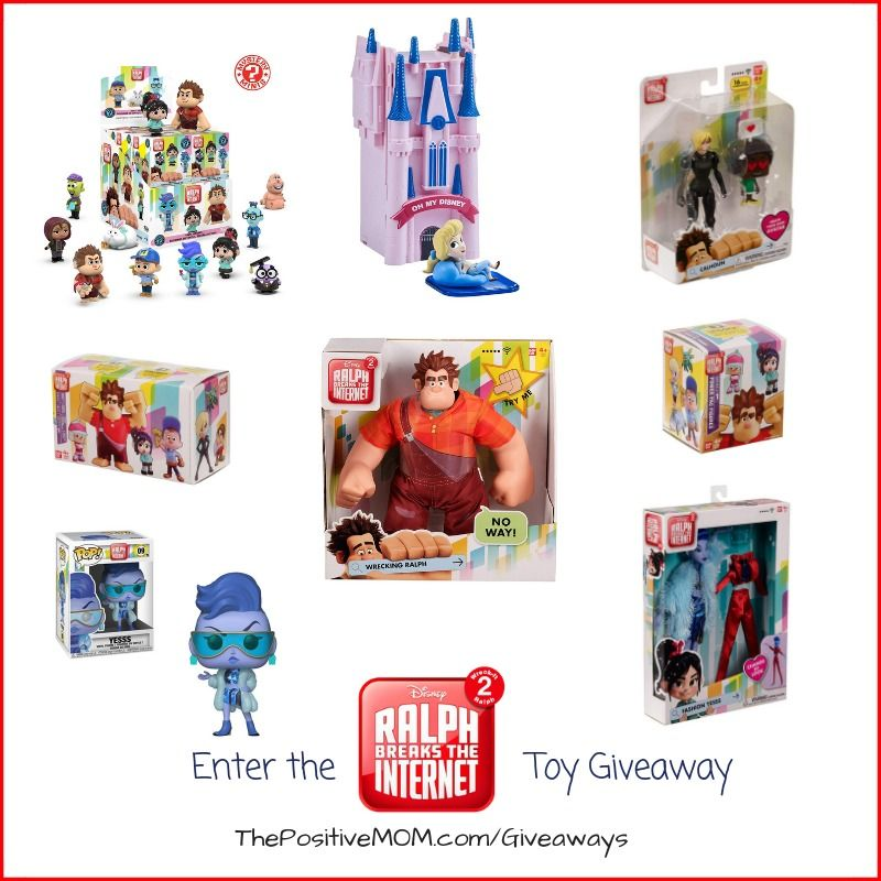 Ralph Breaks The Internet Blog Giveaway | Giveaways