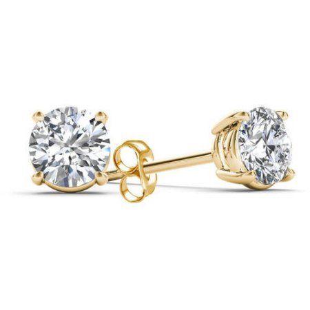 Jewelry Stud Earrings Diamond Solitaire Earrings Diamond