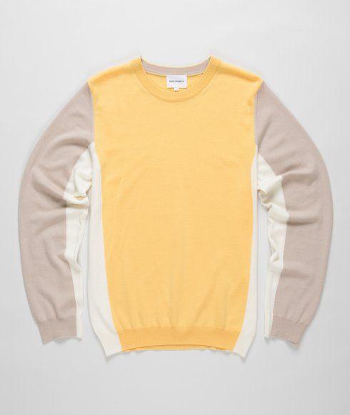 Panel pullover!(pastel)