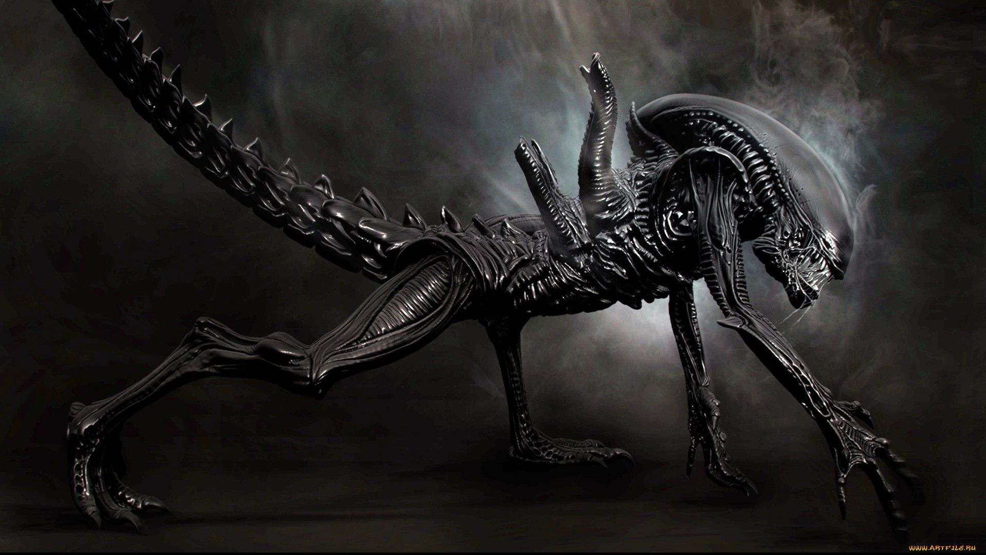 Imgur Xenomorph Robot Wallpaper Aliens Movie