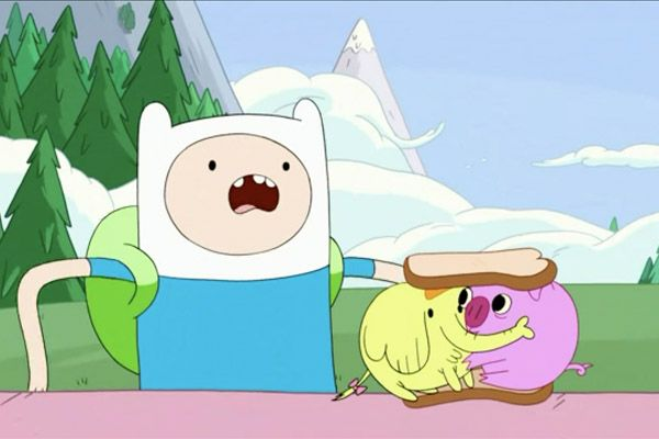 Adventure Time Tree Trunks The Elephant Amp Pig Trying To