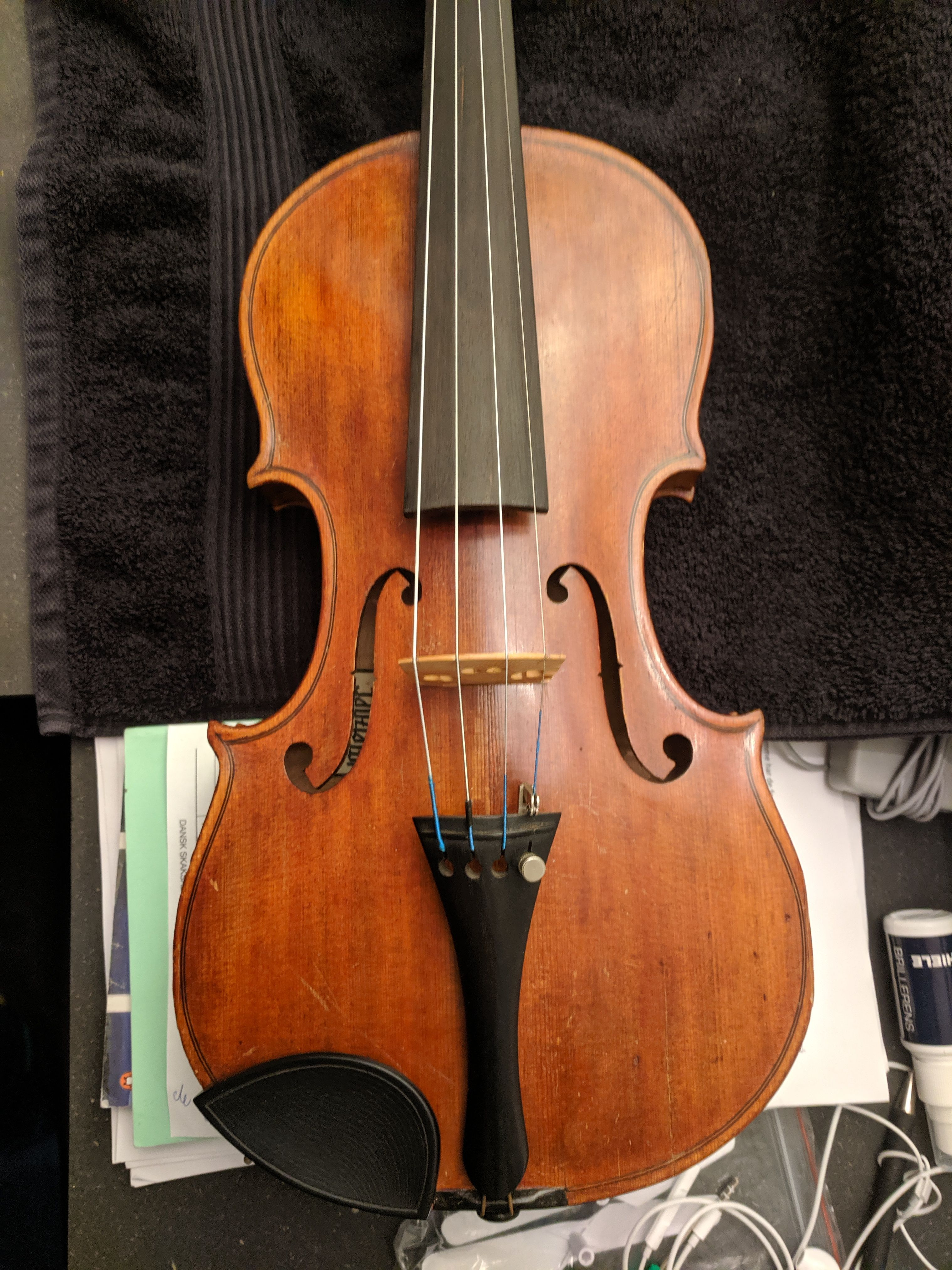 Can anyone tell me anything about this instrument violin