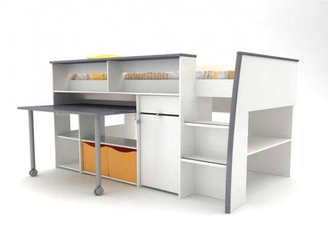 60 lits mezzanine pour gagner de la place elle dcoration - Lit Mezzanine Conforama