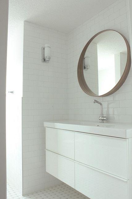 In The Fun Lane Round Mirror Bathroom Bathroom Mirror Stockholm Mirror Ikea
