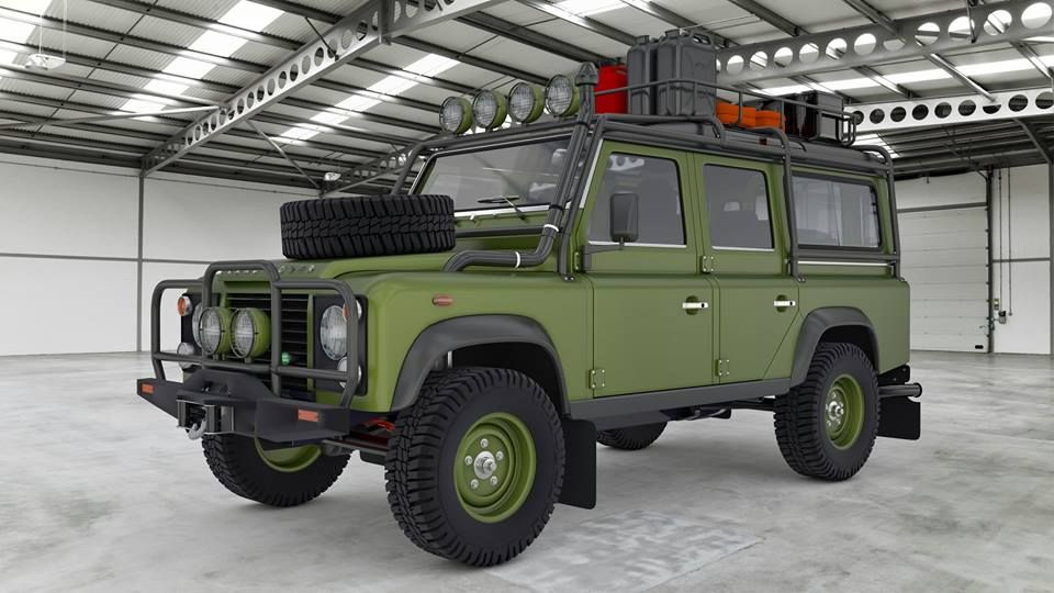WHO WOULD BUY THIS DEFENDER ?