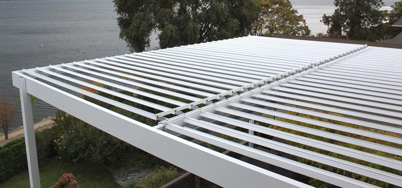 Aluminum Pergola Kits With Adjustable Louvers Pergola In