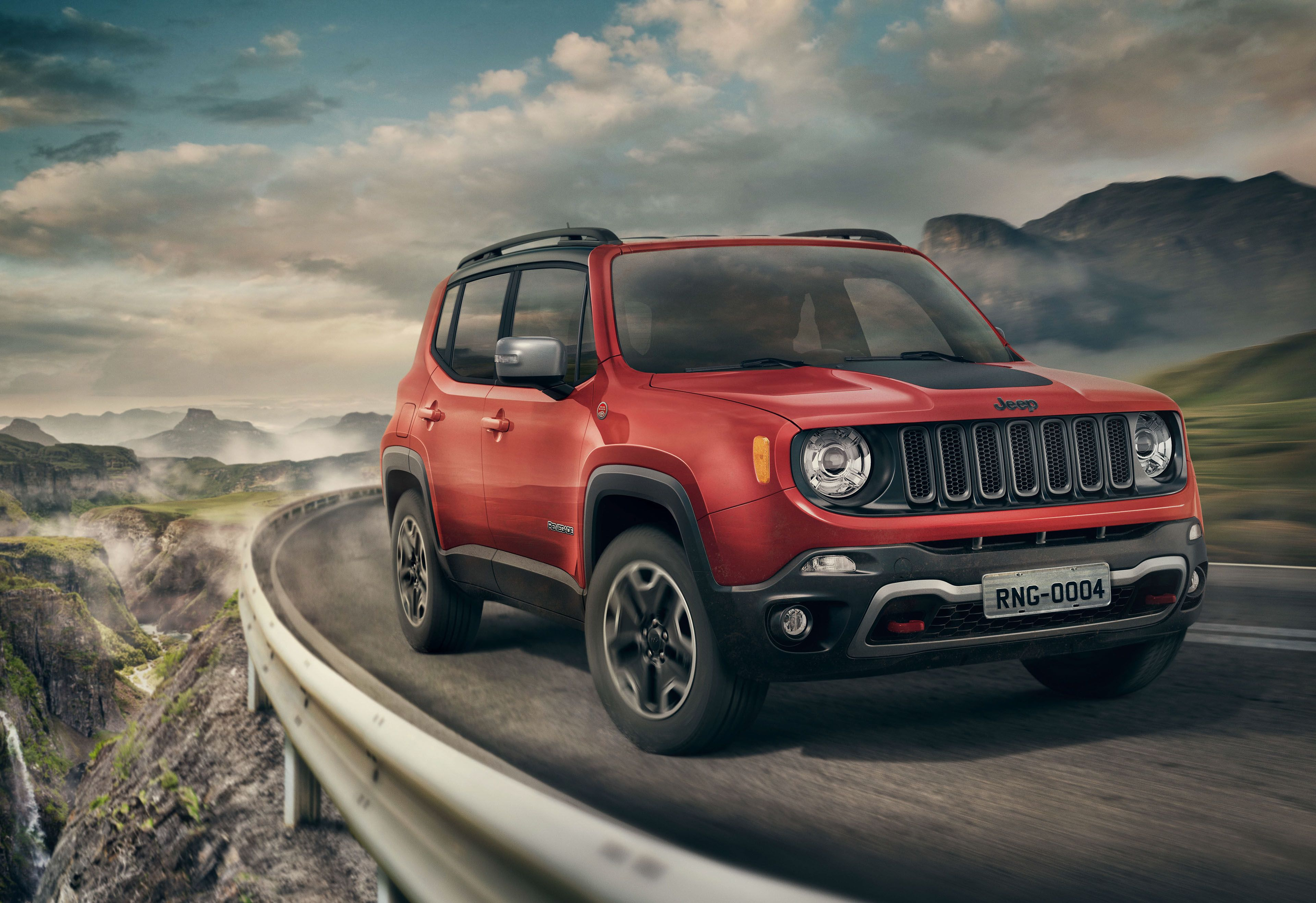 Jeep Renegade 2017 On Behance Mitsubishi Outlander Jeep