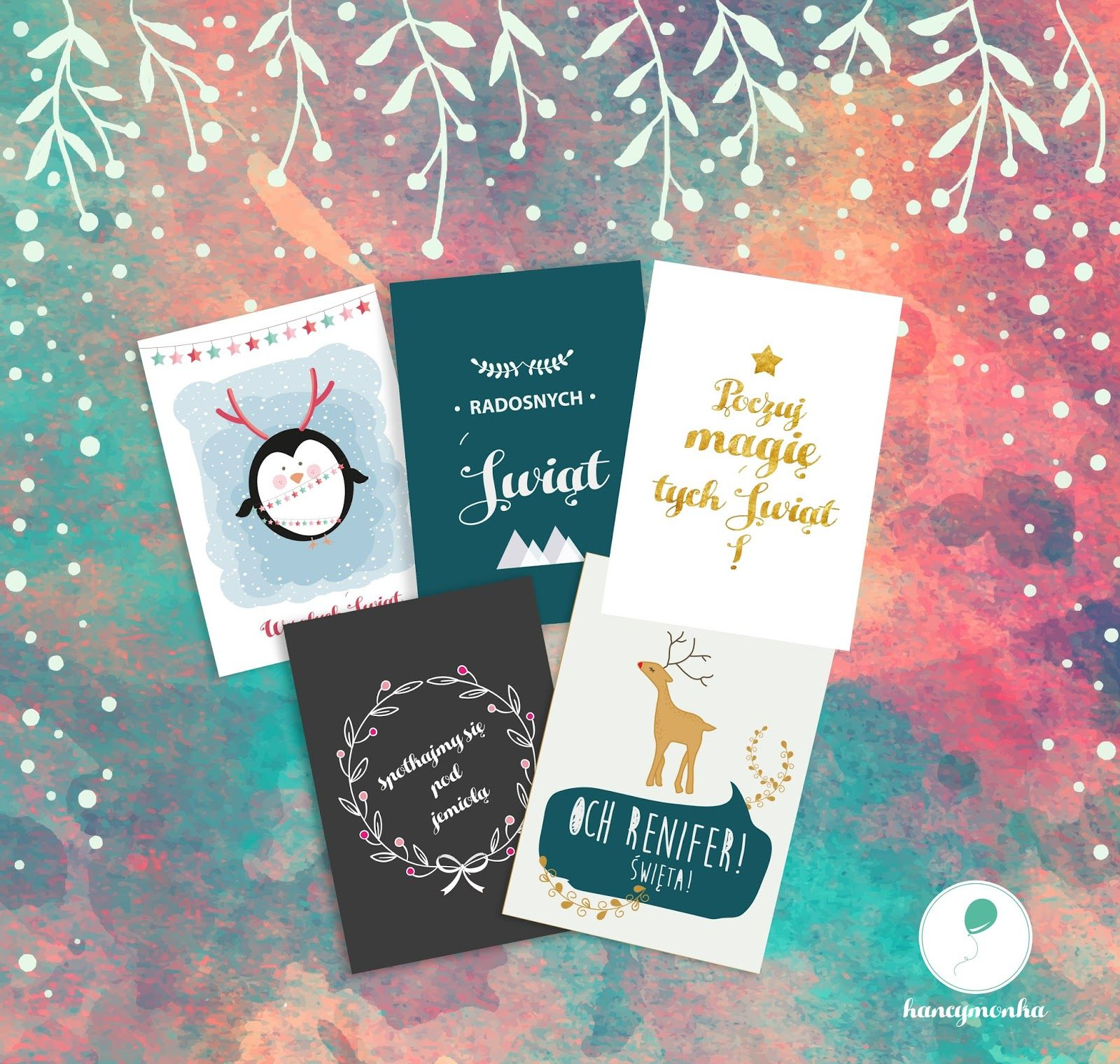 Plakaty świąteczne Do Druku Za Darmo Darmowe Plakaty Grafiki