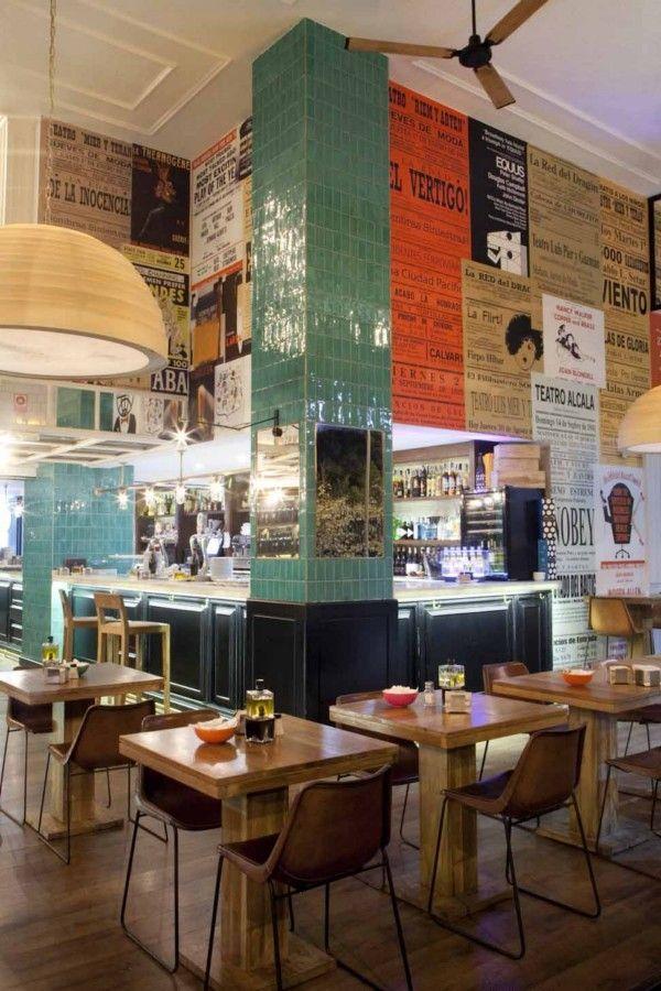 Paredes originales restaurante locales deli pinterest restaurante originales y la firma - Casa doli restaurante ...
