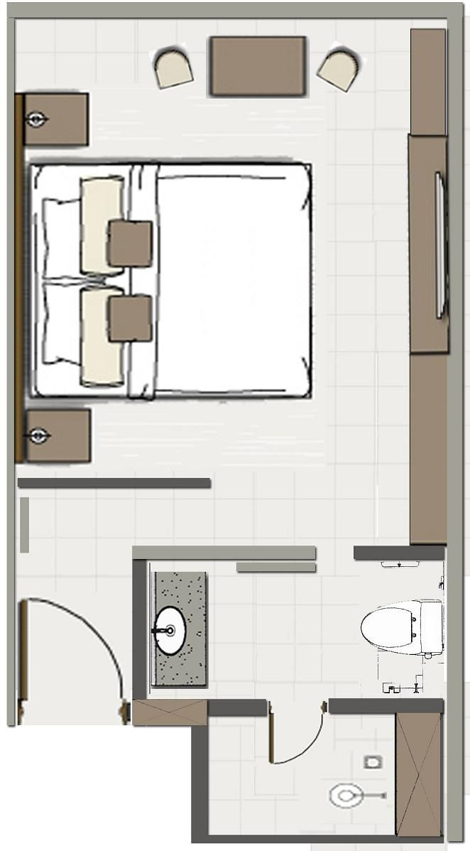 Hotel Room Plans Layouts Interiors Blog Hotel Room Design Hotel Room Plan Room Layout