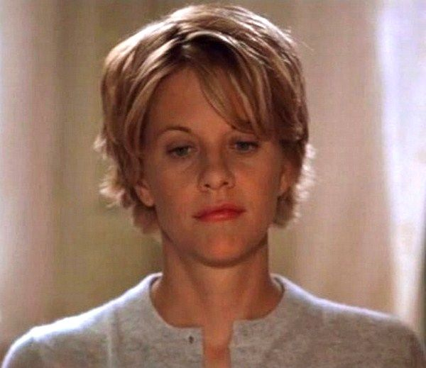 Meg Ryan in You've Got Mail | SHORT Hair | Pinterest | Meg