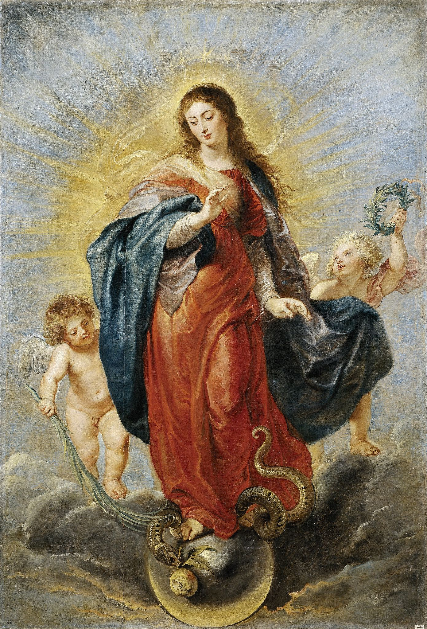 https://flic.kr/p/f4S5RG | Immaculate Conception | 1628-1629. Oil on canvas. 198…