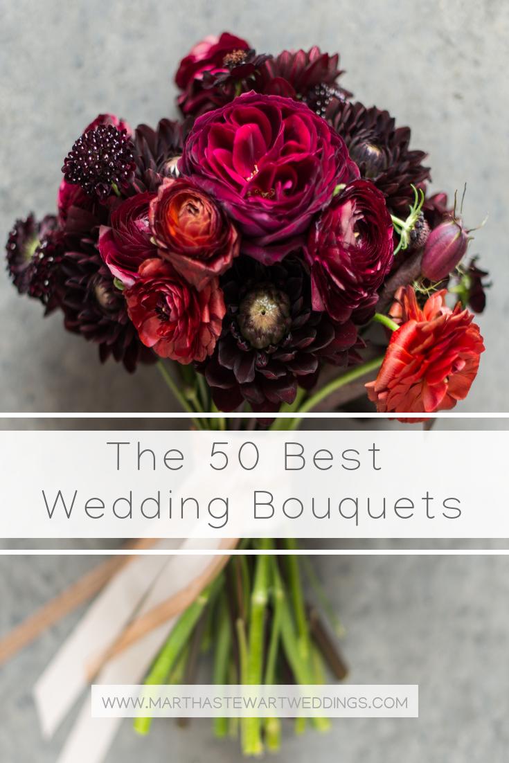 The 50 Best Wedding Bouquets | Wedding Bouquets | Pinterest | Martha ...
