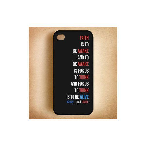 Twenty One Pilots Car Radio Lyrics Phone Cases iPhone 4 4S iPhone 5 ...