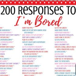 The Ultimate List of Fun Things for Tweens & Teens to Do When They're Bored – 200+ Ideas & Printable