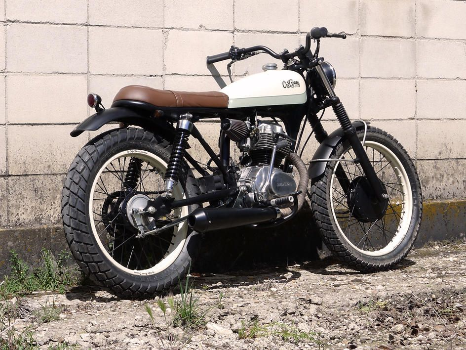 Extrêmement Vito's Motorcycle: Honda CG 125 Cafe Racer Dreams#29 'Petite Deli  RU96