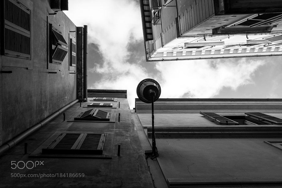 Looking up by AndreaBoccone Facebook Page: AB Street Photography