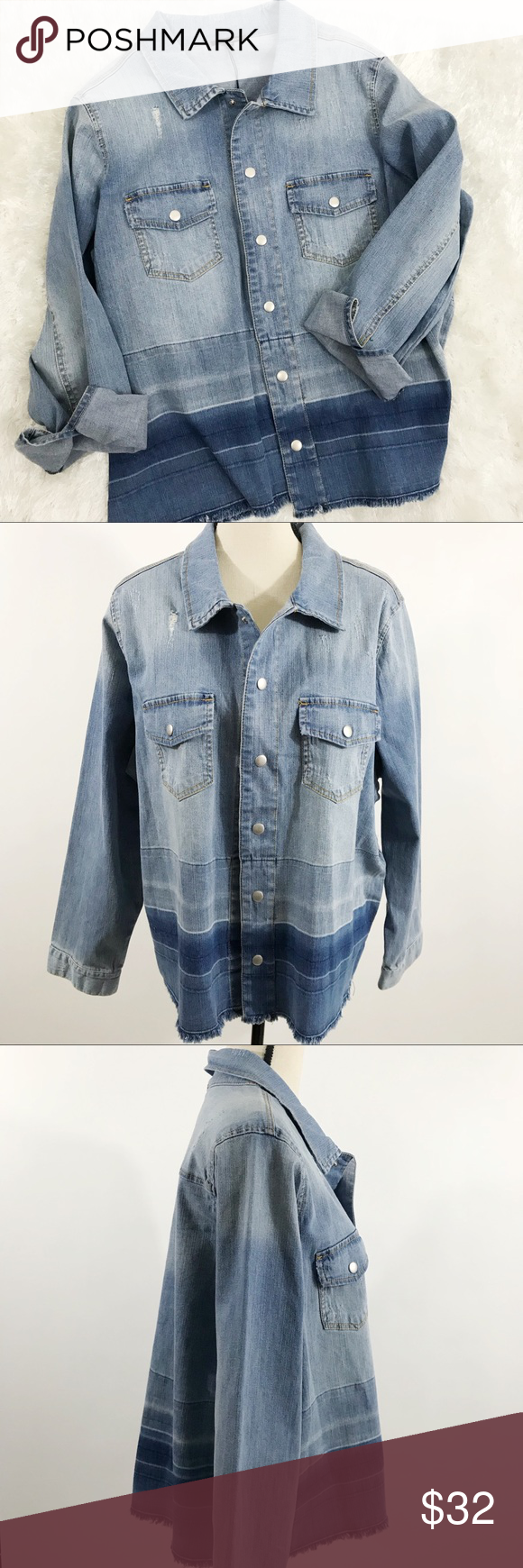 Soldu dear john womenus conway denim jean jacket dear john denim