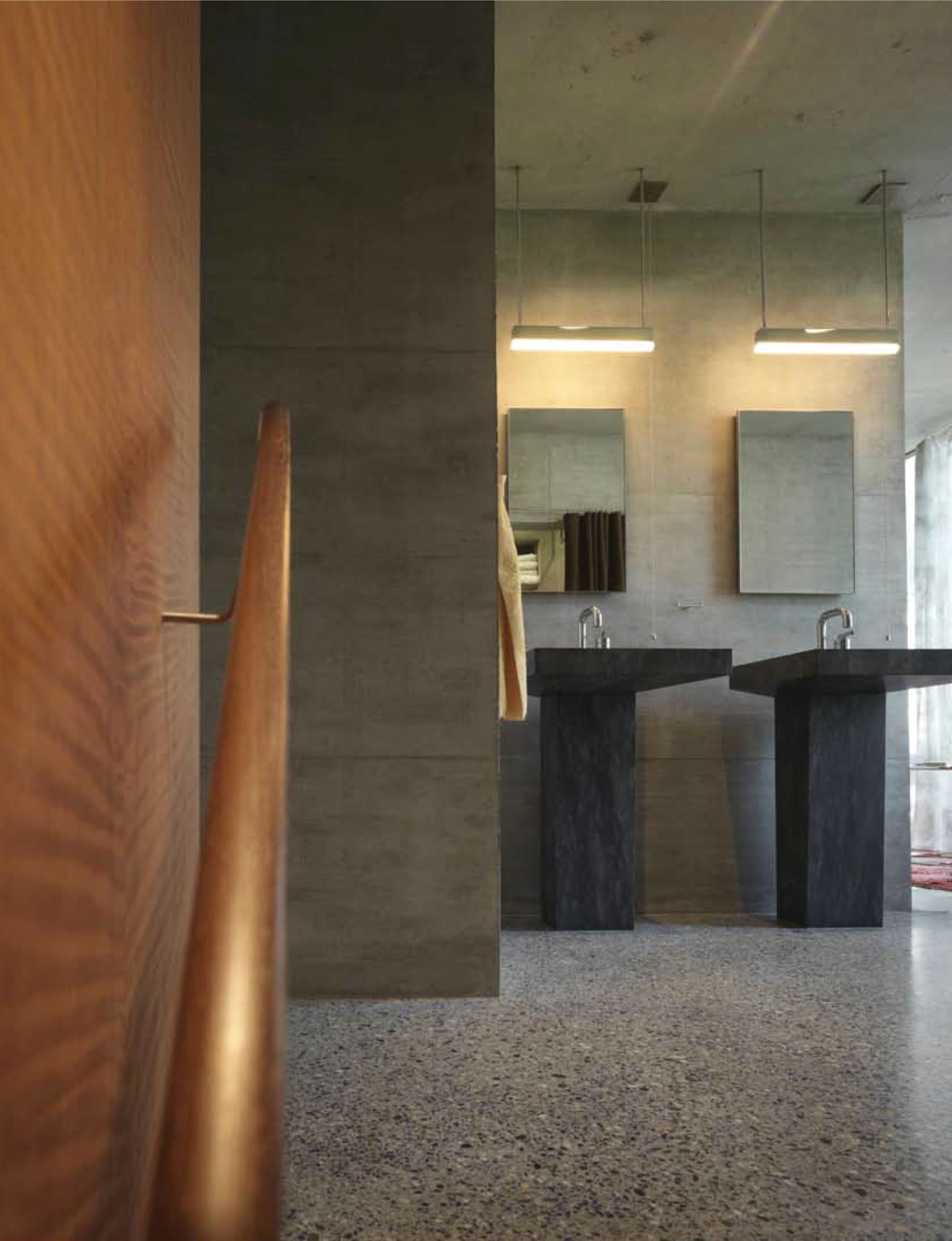 Wohn und Atelierhaus Haldenstein 2005_Peter Zumthor