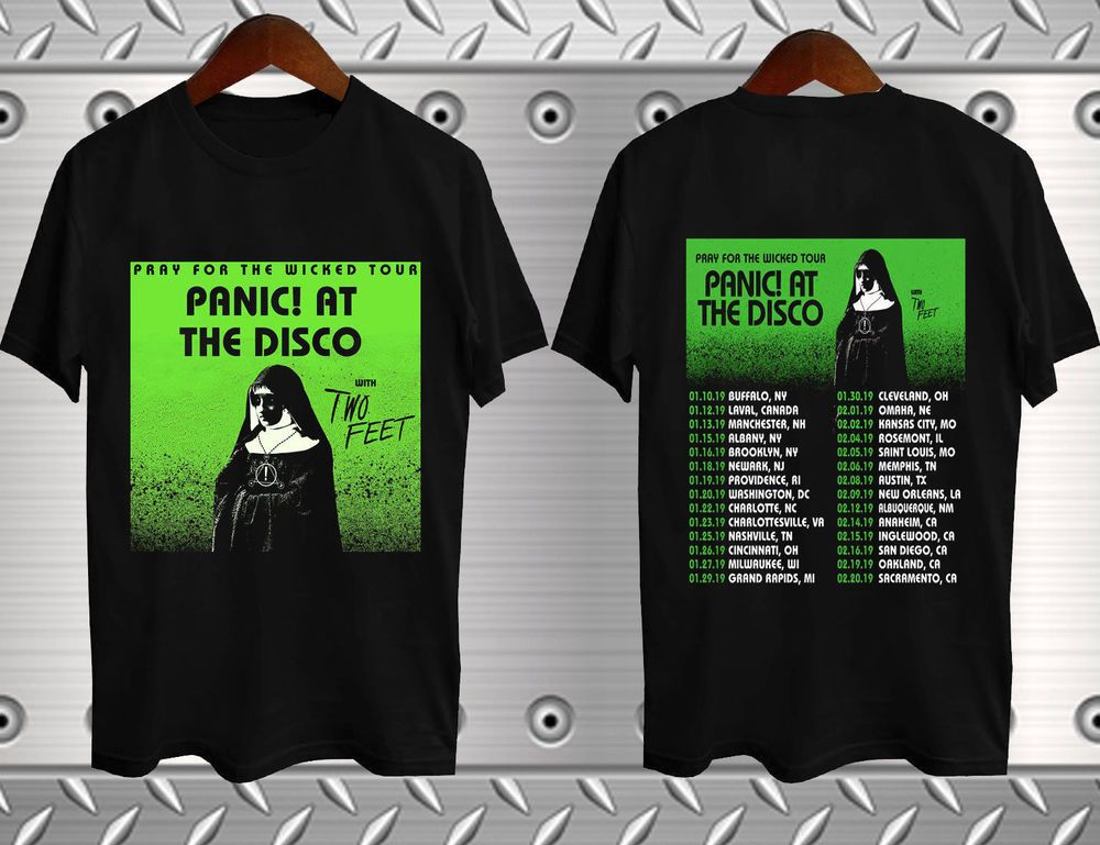 01d44d48 Panic! At The Disco Pray For The Wicked Tour Dates 2019 New T-shirt  #fashion #clothing #shoes #accessories #mensclothing #shirts (ebay link)