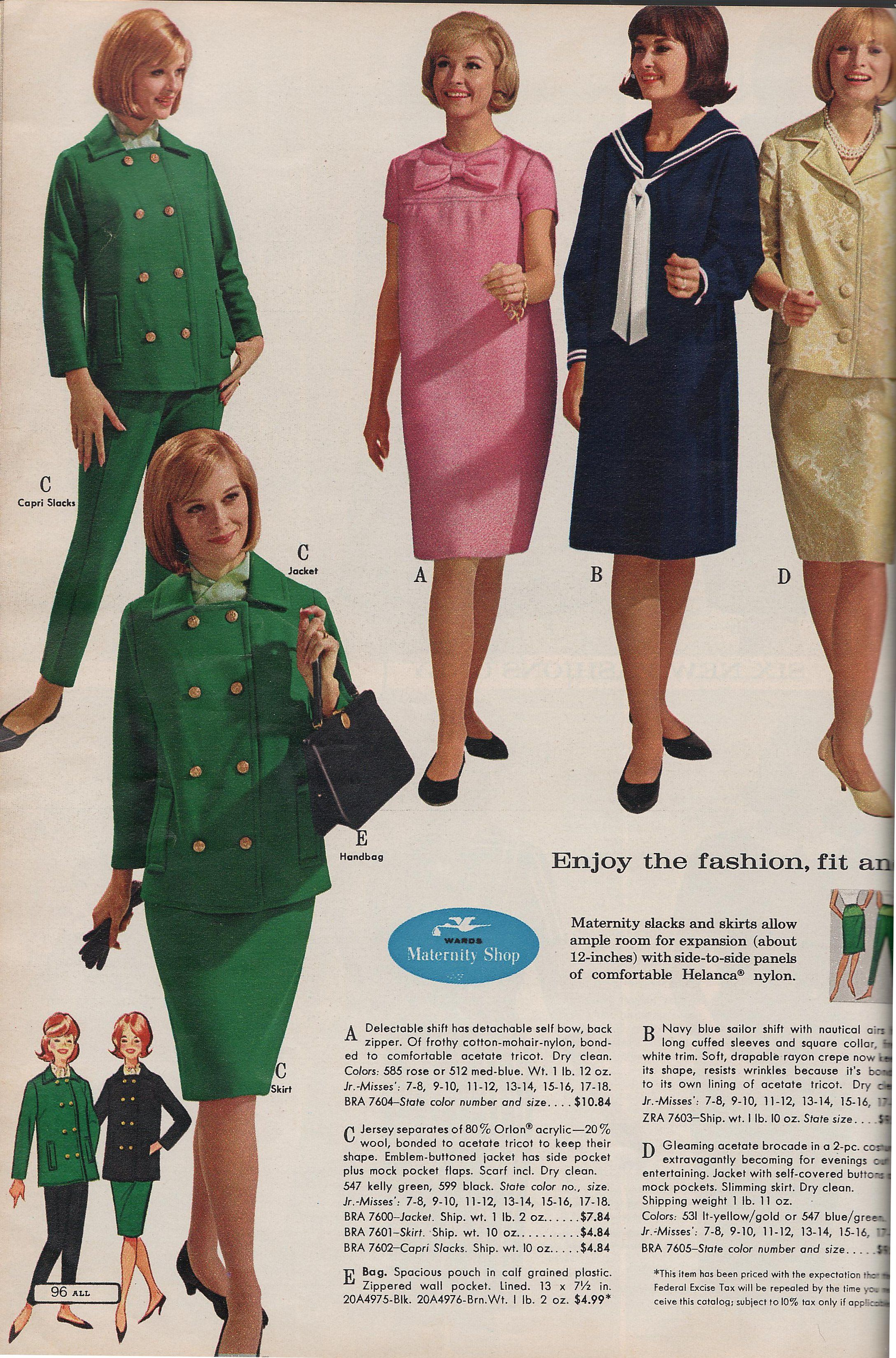 Maternity Clothes 1960 1972 All About My Style 60s