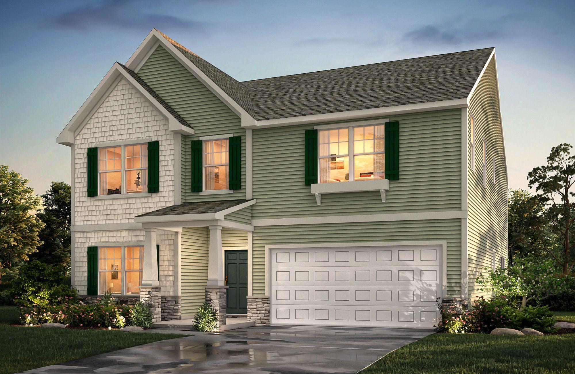 Winslow E F2 True Homes House Styles House Elevation