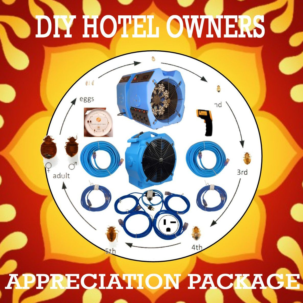 DIY Hotel Owners Appreciation Heat Package Hotel owner