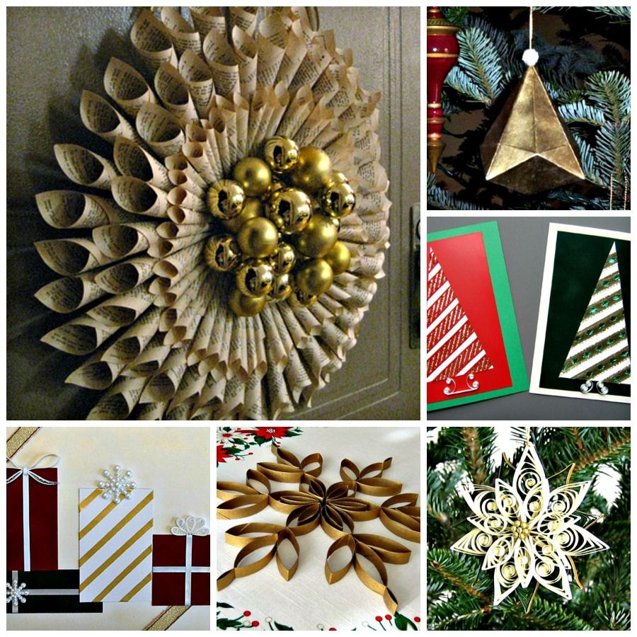 DIY: Christmas Paper Craft Projects | Flickr - Photo Sharing!