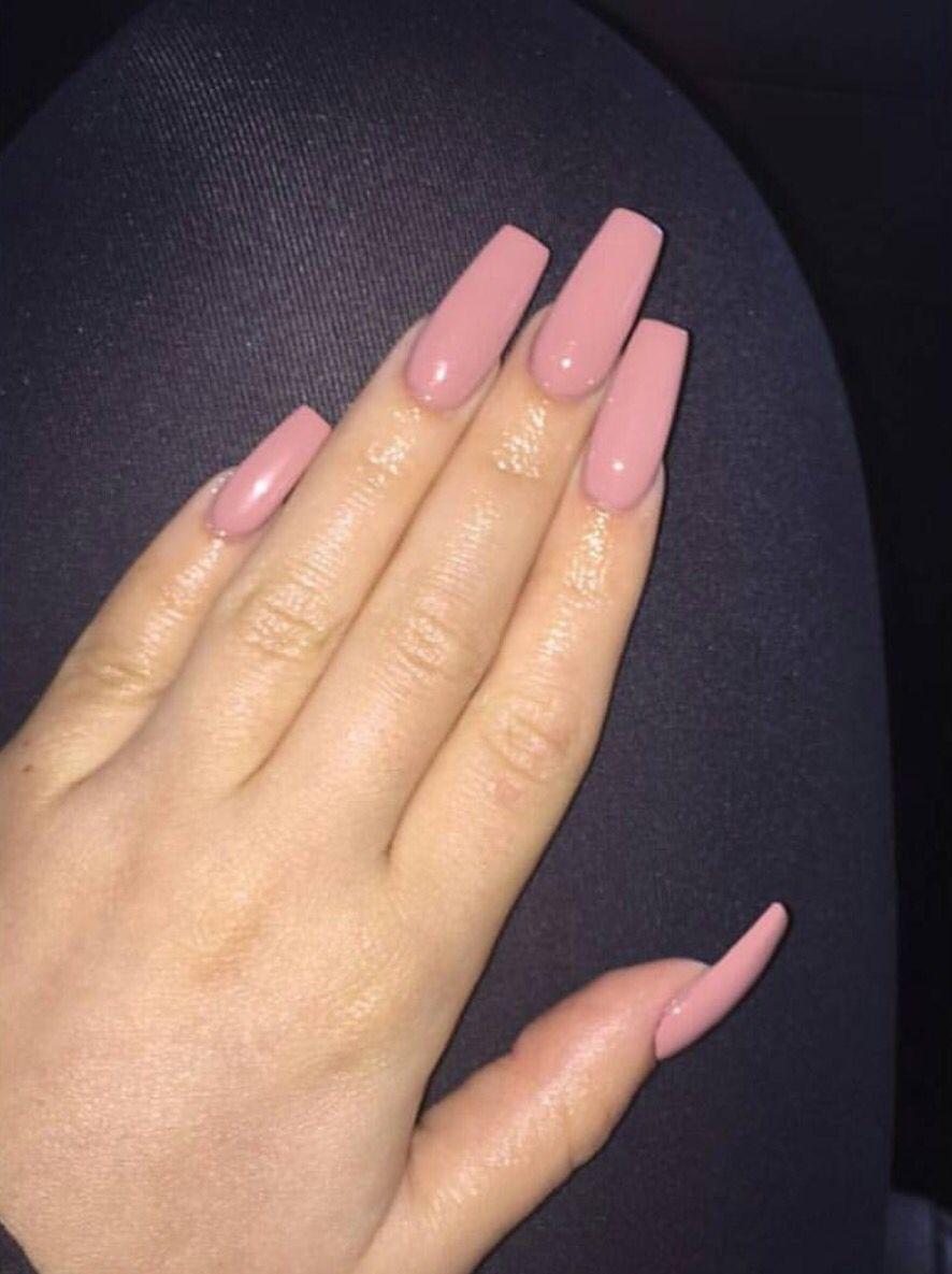 Baddestbbylexx Pink Acrylic Nails Light Pink Acrylic Nails Pink Nail Colors