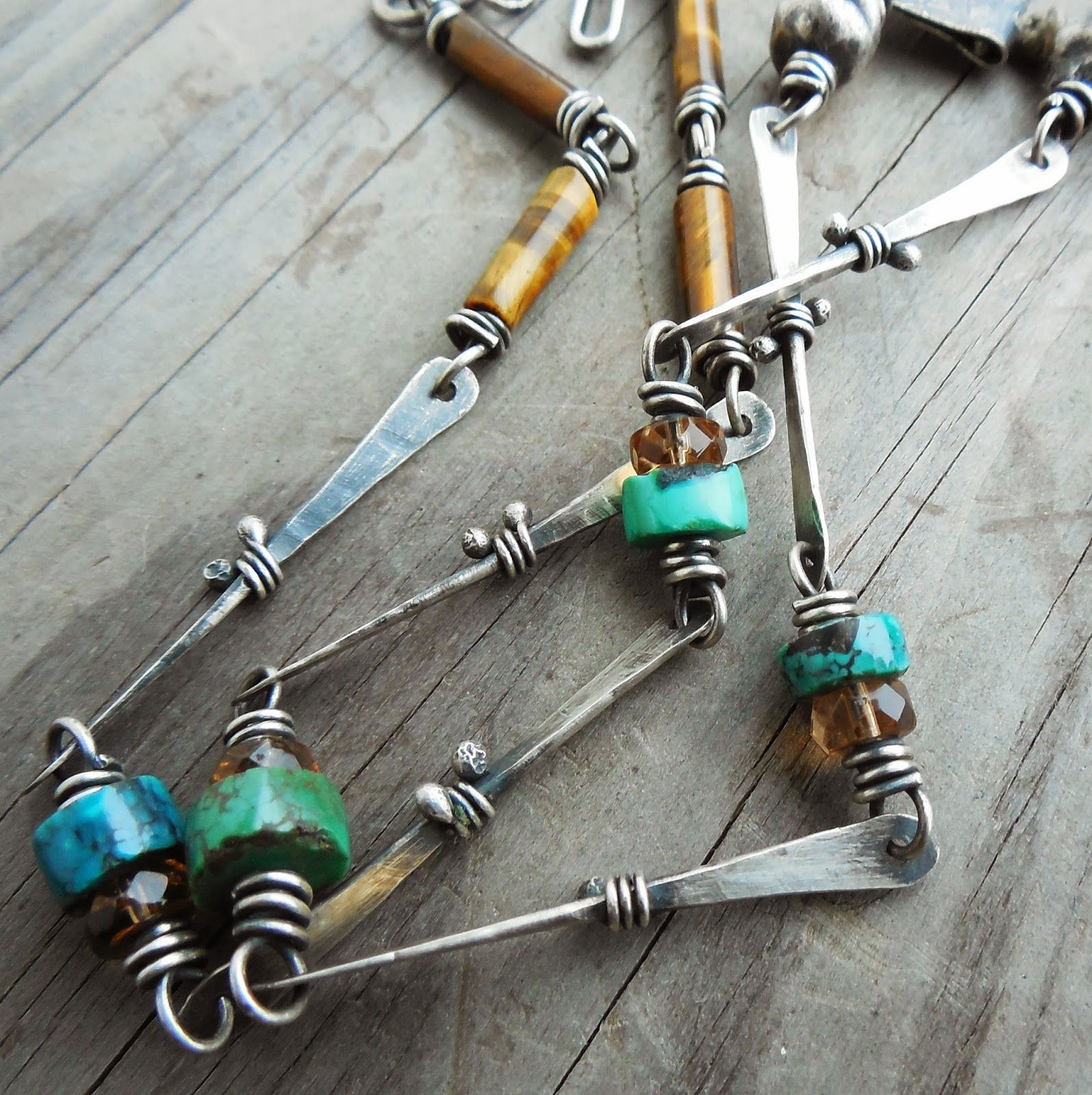 Art Jewelry Elements: Fun With Chain (and No Soldering!) | Jewelry ...