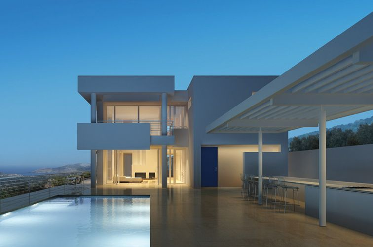 bodrum houses by richard meier berggruen - Richard Meier Homes