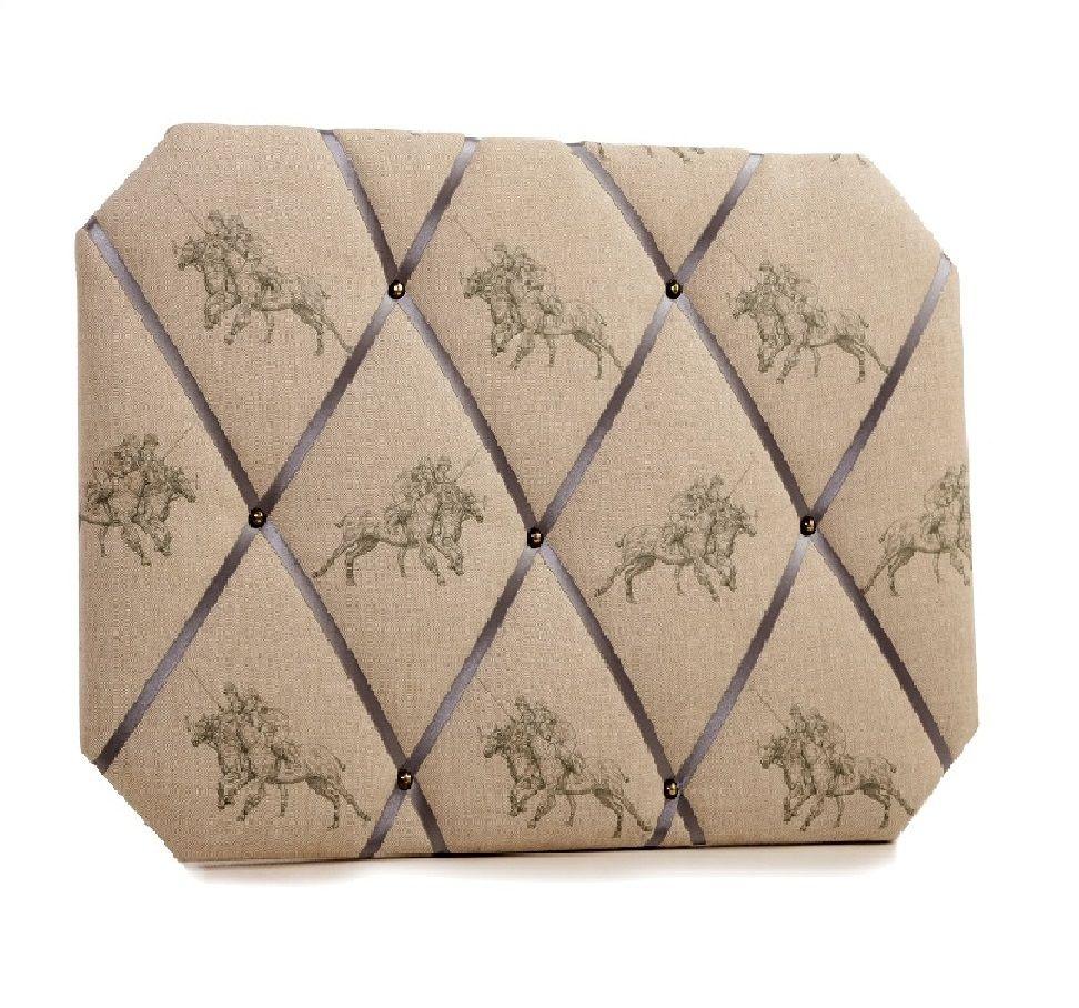Memo Board #polo #horse www.bonniegrey.co.uk