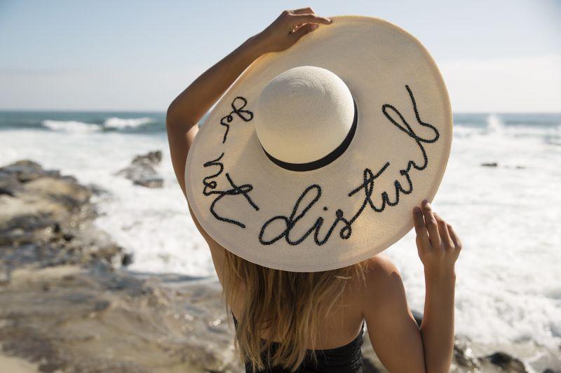 Talking #hat. #summer #beach