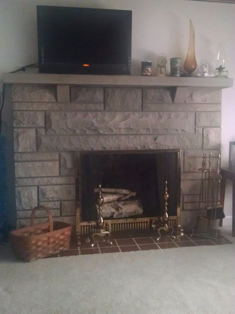 Need Update Ideas For Bedford Stone Fireplace Stone Fireplace Makeover Fireplace Makeover Cheap Bedroom Decor