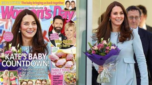 when Australian magazine Woman's Day put The Duchess of Cambridge on its cover, journalists and fans rose up sying she was unrecognizable