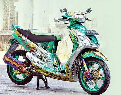 Kumpulan Modifikasi Yamaha Mio Sporty Terbaru Motor Ganteng Motor