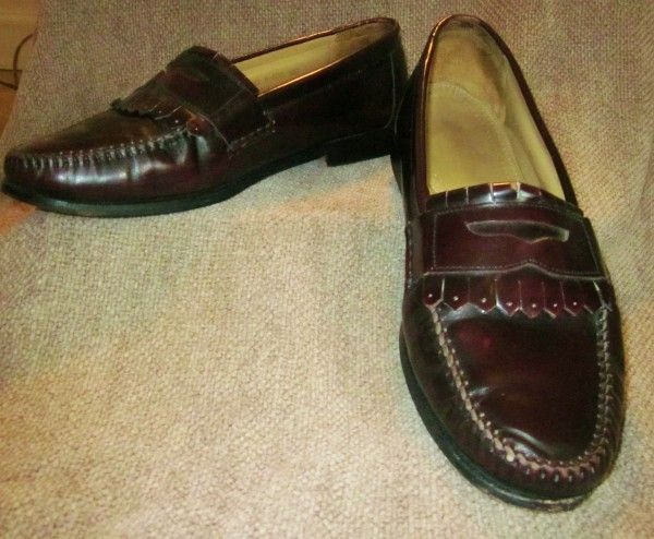 Bass Weejum Loafers with Kiltie    Mens 12D
