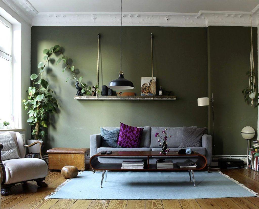 Wandfarbe Grün Die Besten Ideen Und Tipps Zum Streichen Mit Avec