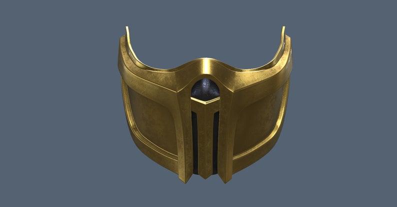 Mk 11 Scorpion Mask 3d Model Stl Files Etsy In 2021 Mask Stl Photo Mask