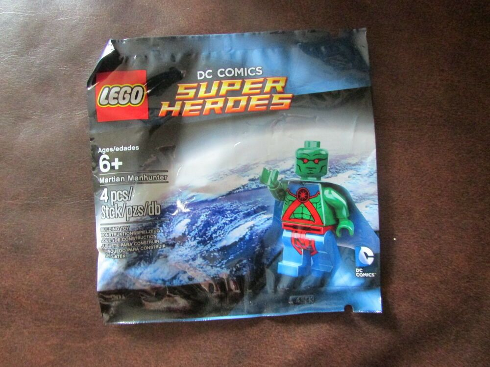 LEGO Super Heroes DC Comics 5002126 MARTIAN MANHUNTER Minifigure Justice League