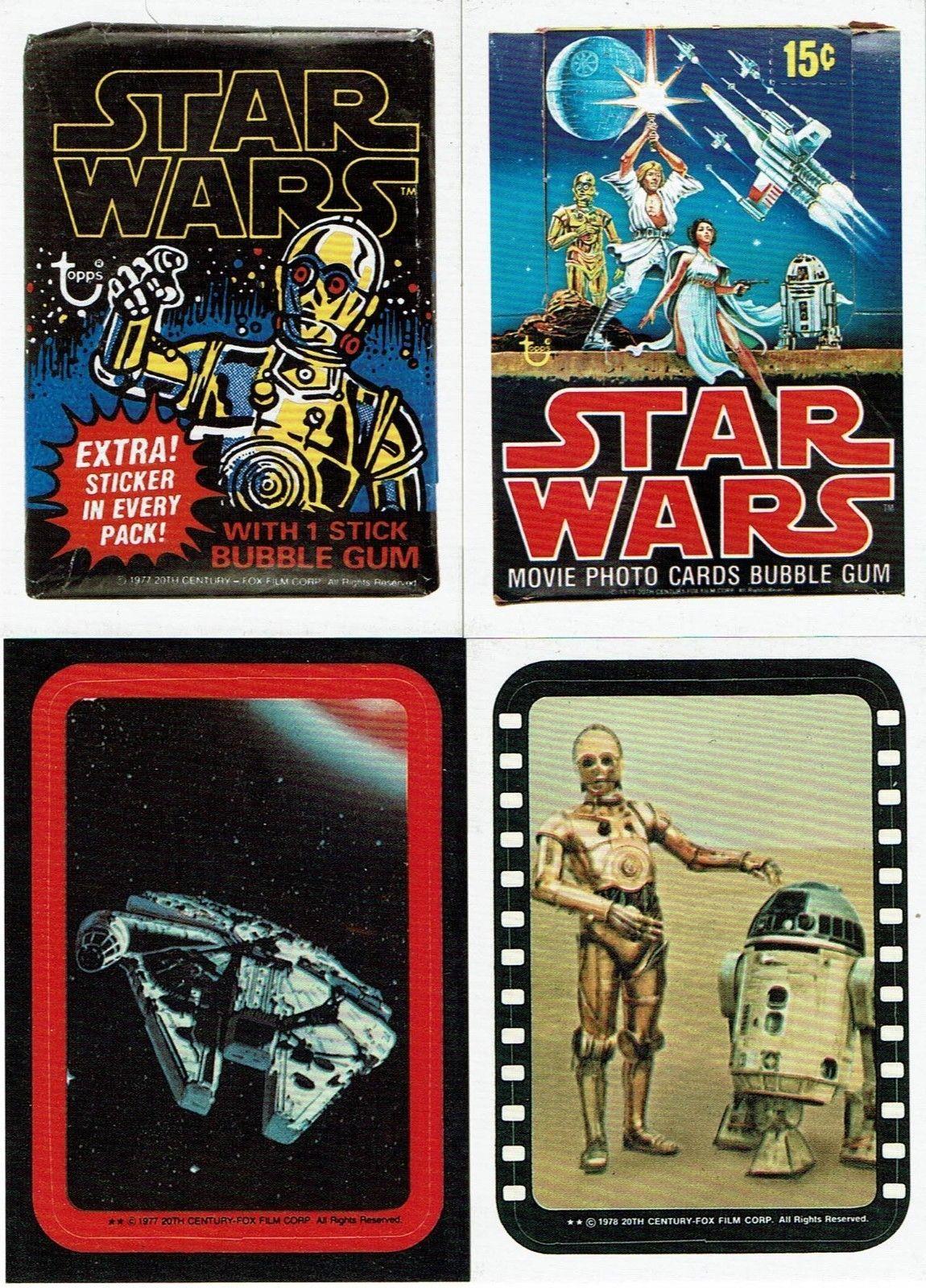 2015 Topps Disney Star Wars Promotional Bonus Trading Cards Set Of 4 Solo Disney Star Wars Star Wars Trading Cards