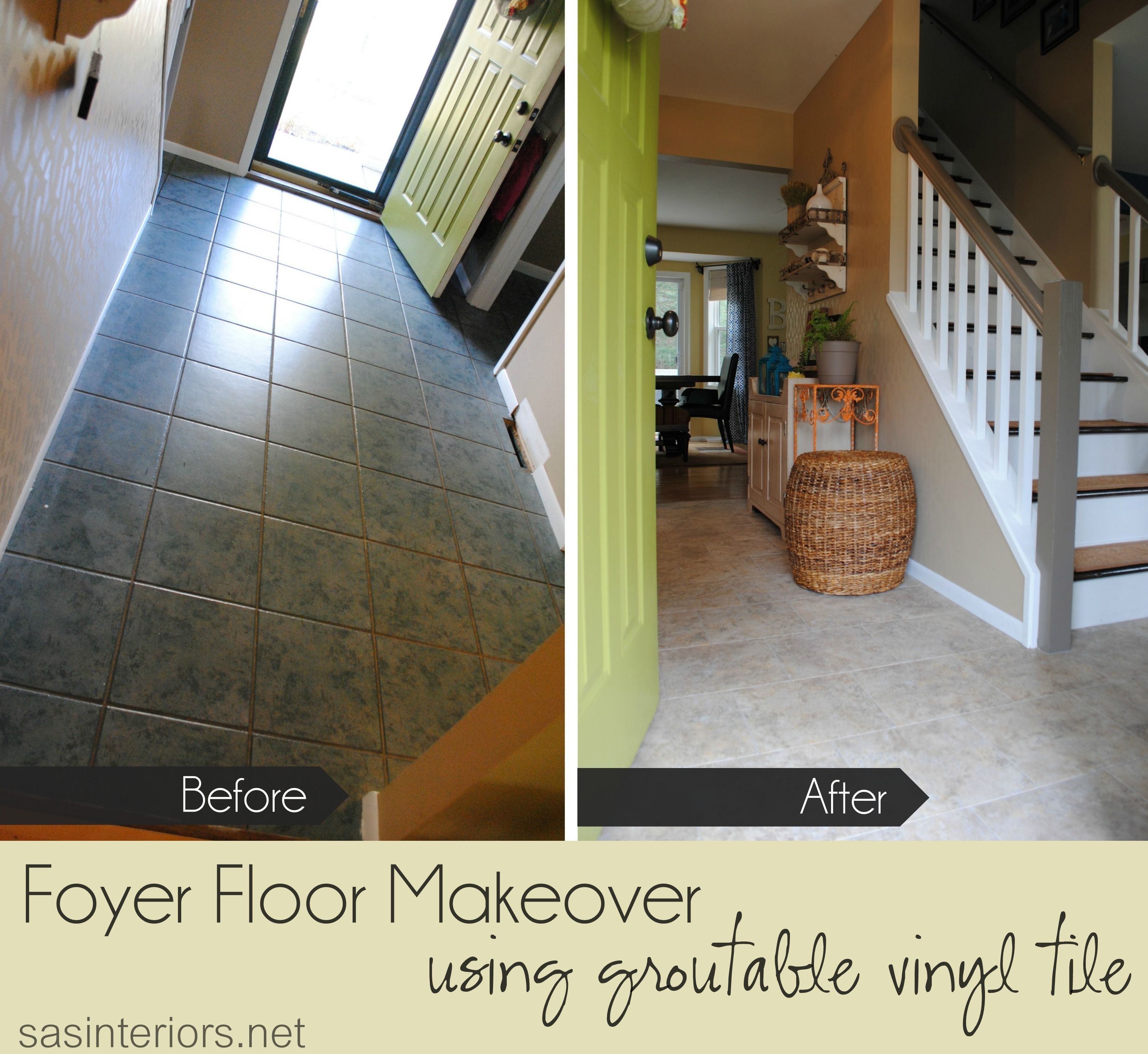 Do It Yourself How To Install Luxury Vinyl Tile That You Can Grout It Looks Just Like Ceramic Tile And Can Vinyl Tile Luxury Vinyl Tile Groutable Vinyl Tile