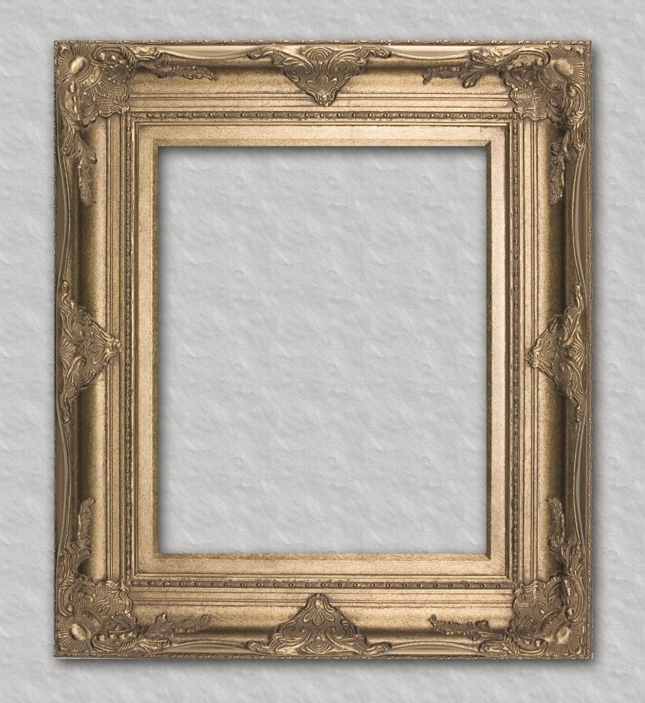 Gold ornate with matching liner readymade frame ready for