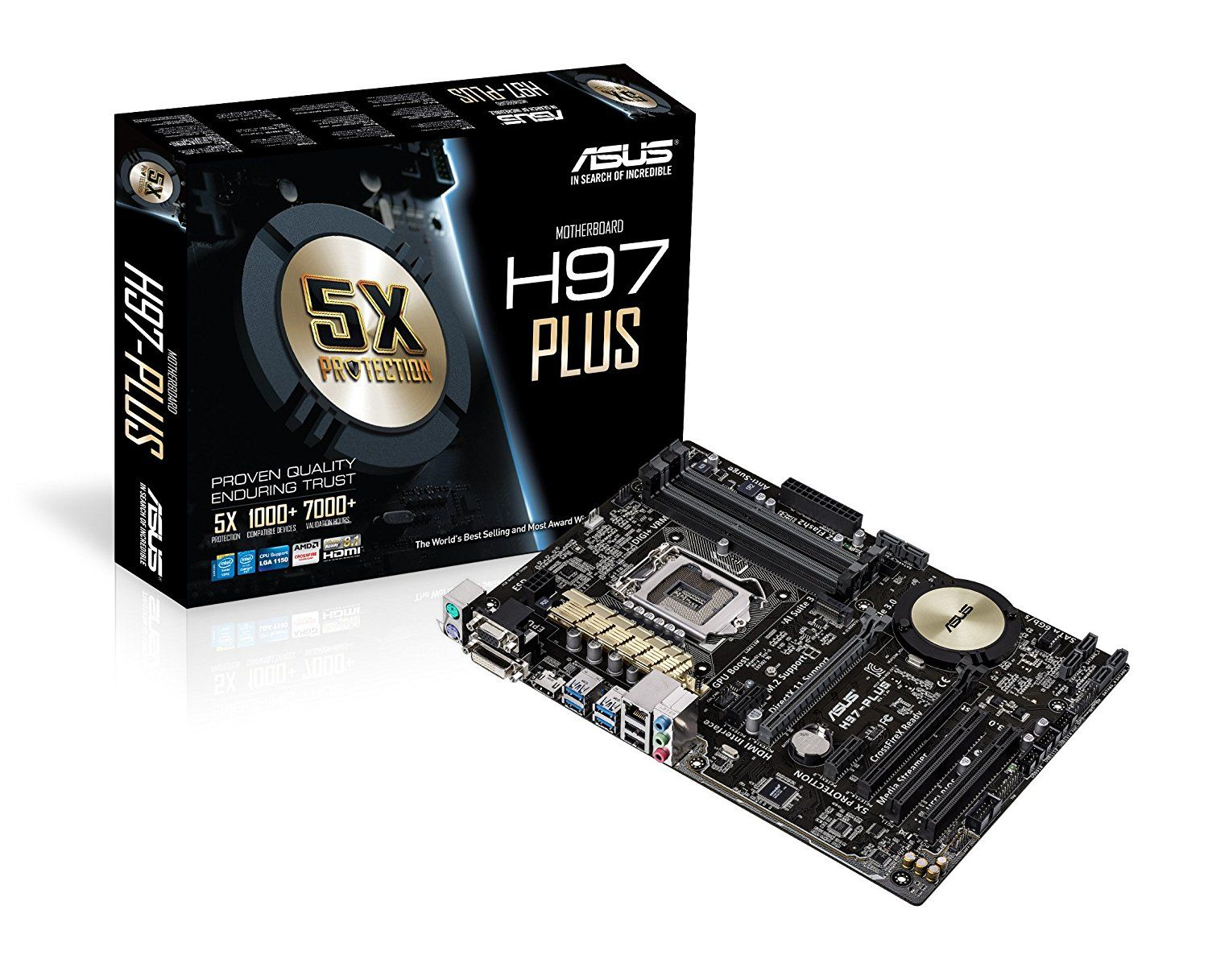 Buy Asus H97 Plus Motherboard For 7649 By Getting 15 Discount